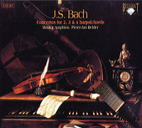 BACH Concertos for 2,3 & 4 harpsichords